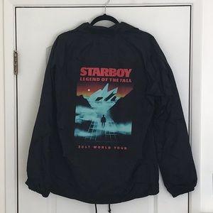 Weeknd xo Starboy Legend of the Fall Windbreaker